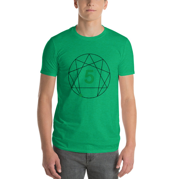 Enneagram #5 Colored T-Shirt