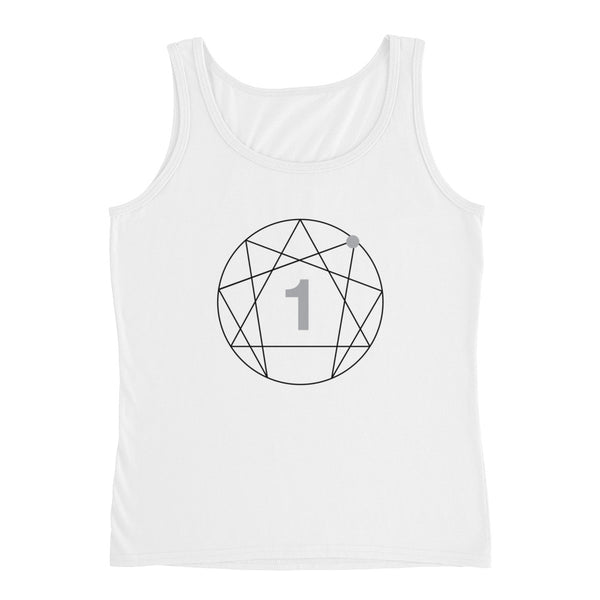 Enneagram #1 Colored Ladies' Tank