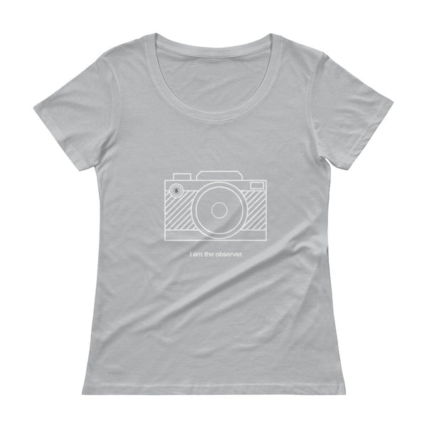 Enneagram #5 OBSERVER Ladies' Scoopneck T-Shirt