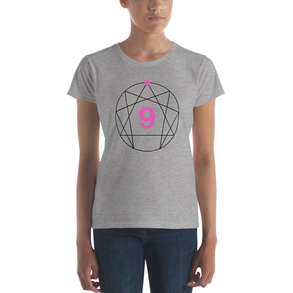Enneagram #9 Colored Women's t-shirt