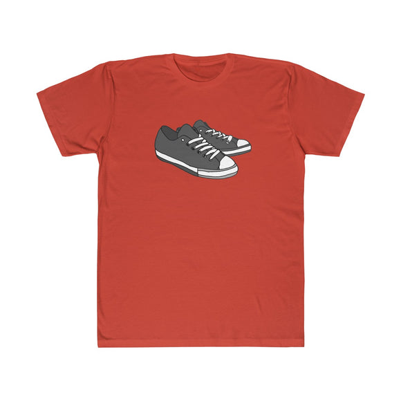 Gray Kicks Lightweight Graphic T-Shirt