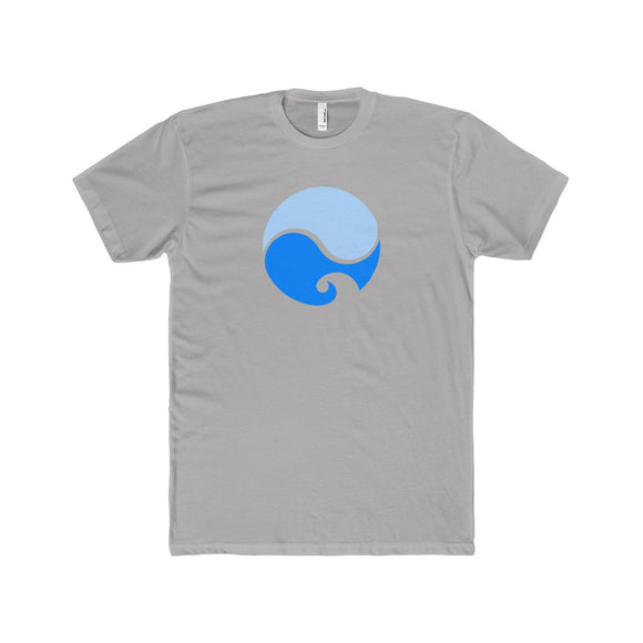Yin Yang Waves Lightweight Graphic T-Shirt