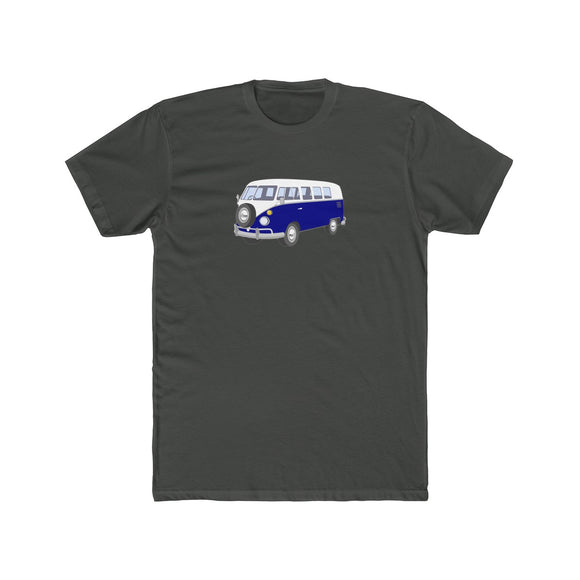Blue Bus Lightweight Graphic T-Shirt