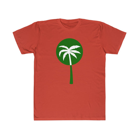 Green Inverted Palm Tree Lightweight Graphic T-Shirt