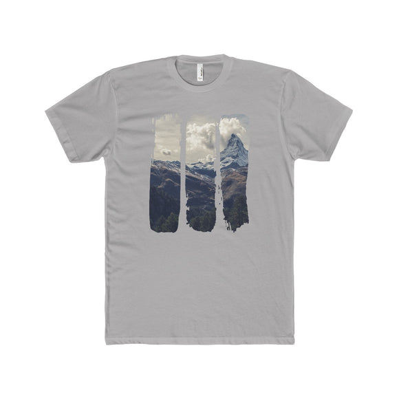 Brush Strokes Peak Lightweight Graphic T-Shirt