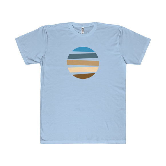 Beach Floating Circle Lightweight Graphic T-Shirt