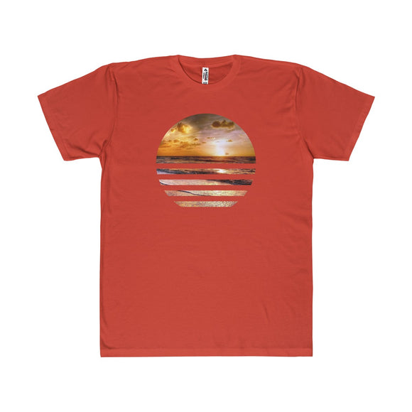 Sunset in a Sunset Lightweight Graphic T-Shirt