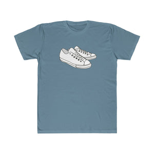 White Kicks Lightweight Graphic T-Shirt