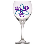 Calypso Design - Large Classic Red Wine Glass, 20 oz.