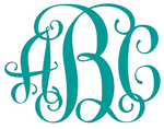 Personalized Monogram - Custom Decal