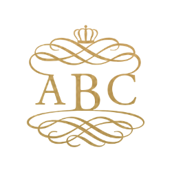 Decorated Royalty Monogram - 3 Letter