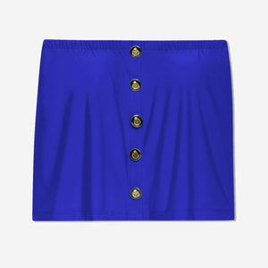 Petite Button-Down Top (Royal)