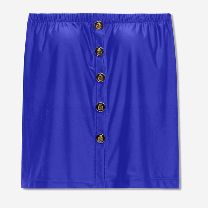 Regular Button-Down Top (Royal)