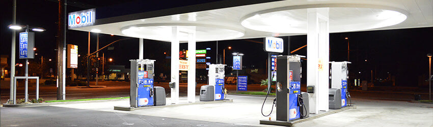 LSI LED Canopy Lights - A Viable Solution For Gas Station Lighting
