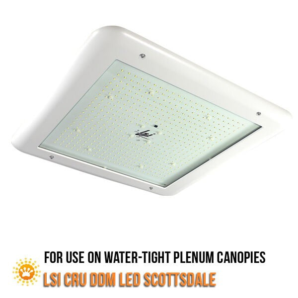 LSI CRU DDM LED Double Deck Canopy Light