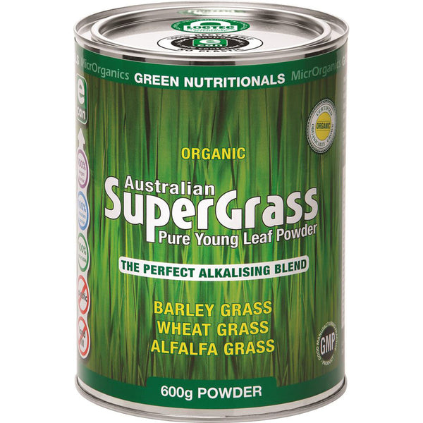 MicrOrganics Australian Supergrass Powder- 600g