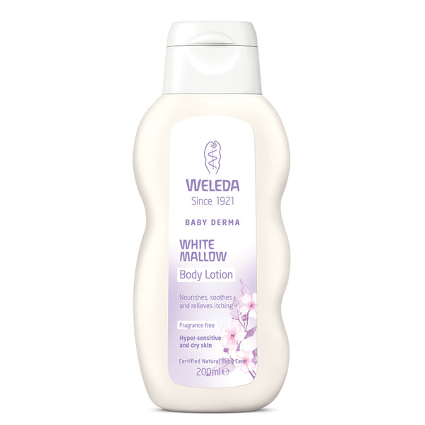 Weleda Baby Derma White Mallow Body Lotion Frag Free- 200ml