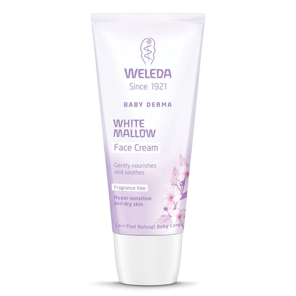 Weleda Baby Derma White Mallow Facial Cream Frag Free- 50ml