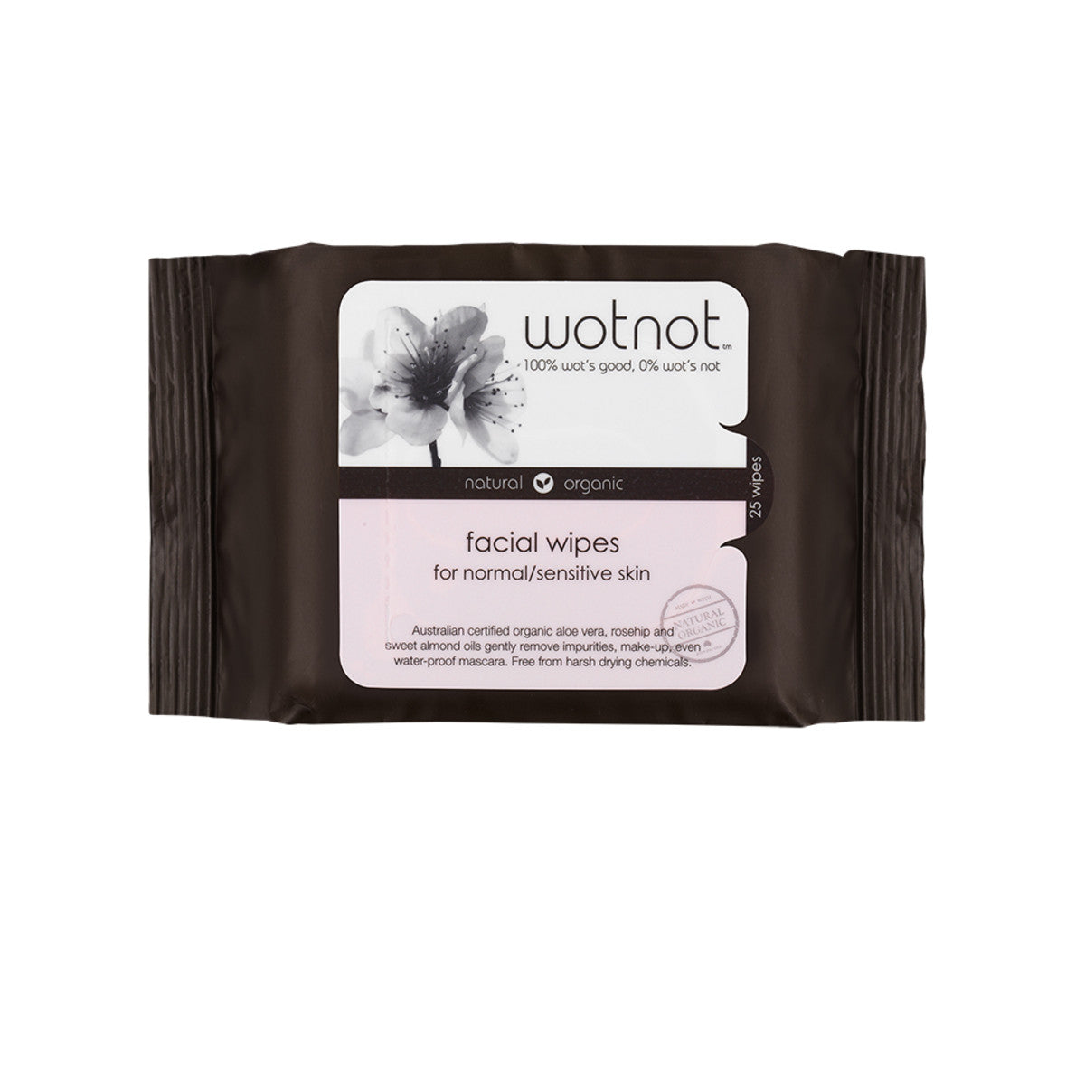Wotnot Facial Wipes x25 Pack