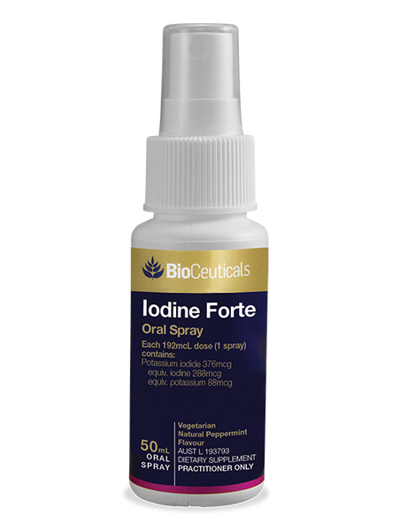 BioCeuticals Iodine Forte Oral Spray