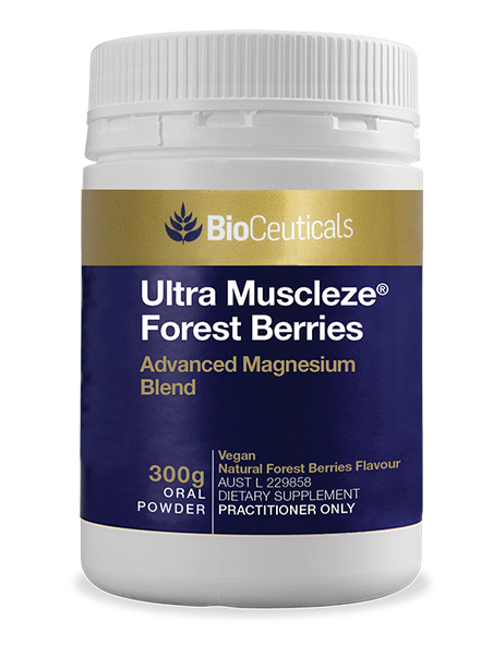 BioCeuticals Ultra Muscleze Forest Berries Oral Powder