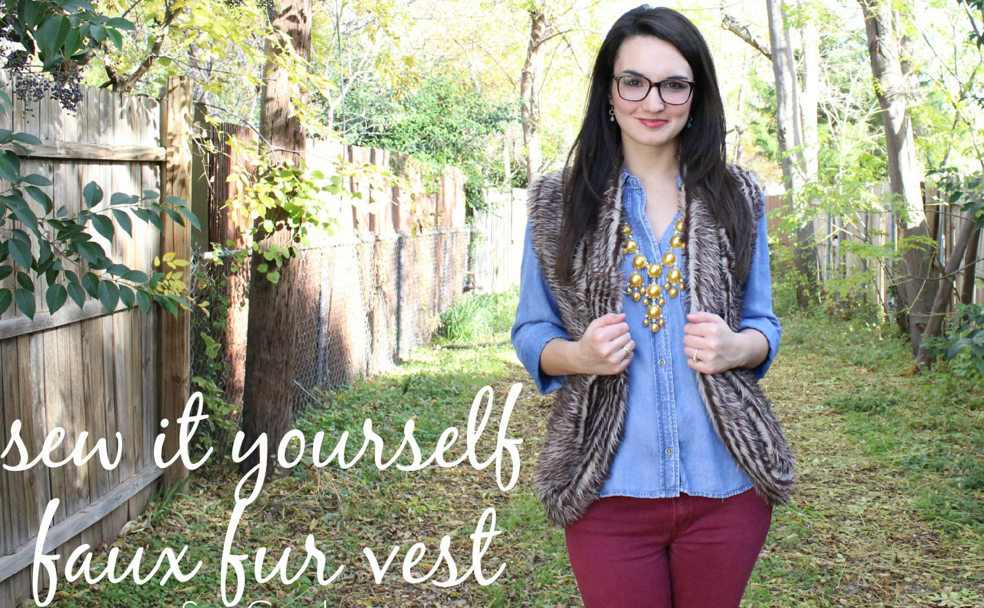 Choose Your Fur Vest For Early Spring