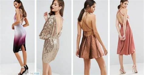 Show Your Backless Dress In Your Fashion Style