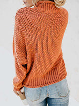 Women Sweaters and Pullovers Long Sleeve Knitted Loose