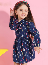 2018 Brand Printing Princess Dress Autumn Style