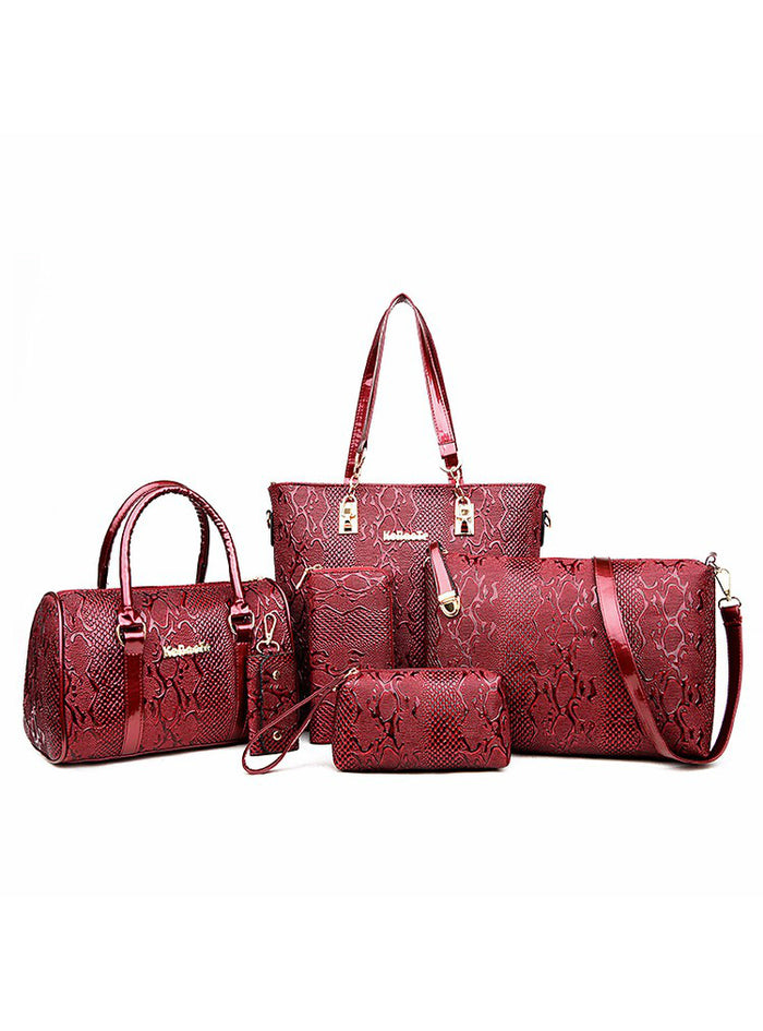 6 Sets Ladies Designer Handbags Famous Brands Bag