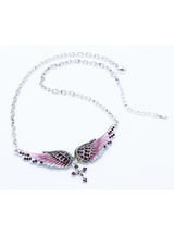 Choker Necklace Women Biker Jewelry Gifts Crystal
