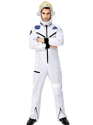 Astronaut Spacesuit Cosplay White