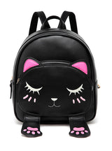 Cute Cat Backpacks Female Bag Small Backpacks