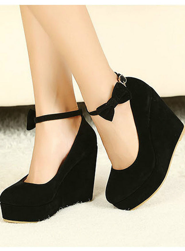 Ladies Shoes Wedges High Heels Platform