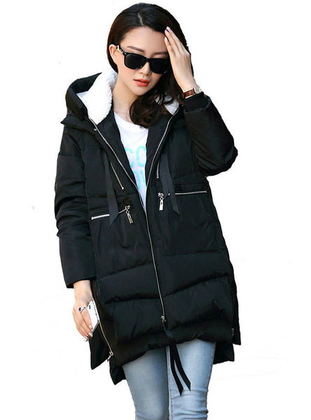 Winter Jacket Women Down Casual Winter Coat