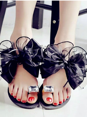 Flower Flat Sandals Sexy Casual Fashion Female Beach