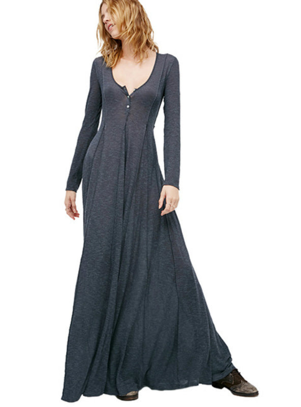 Long Evening Party Maxi Dress Ball Gown