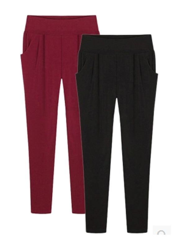 Ankle Length Loose Casual Harem Female Pants
