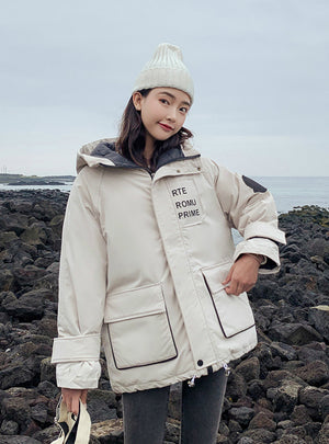 Female Warm Winter Jacket Women Short