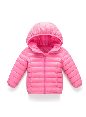 Boys Girls Thin Down Cotton Coat Baby Kids