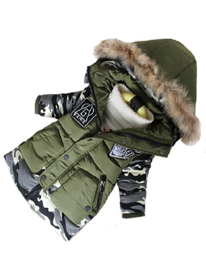 Boys Parka Childen Winter Jackets Warm