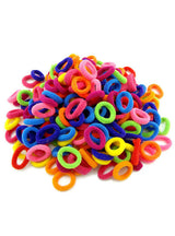 100 Pcs Colorful Child Kids Hair Holders Cute
