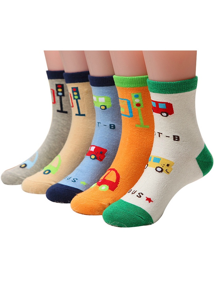 Kids Socks for Boys Girls Cotton Socks Baby