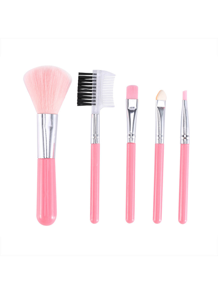 5Pc Professional Makeup Brushes Face Foundation