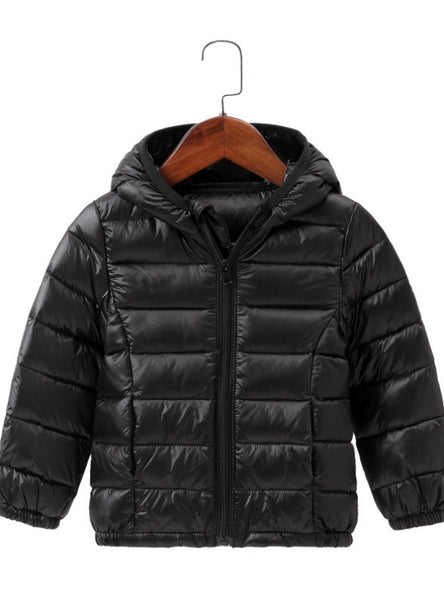 Winter Hooded Children Down Jackets For Girls