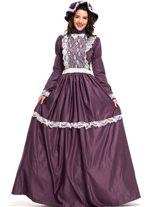 Women's Prairie Lady Costume Farm Clothes