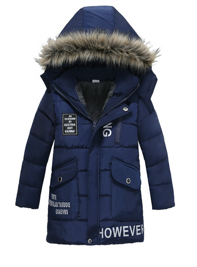 Boys Jackets Baby Outerwear Coats Cotton Down