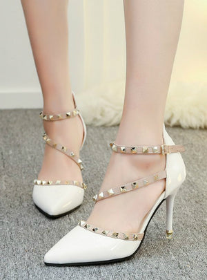 Women Sandals Comfortable Square Heels Quality High Heels