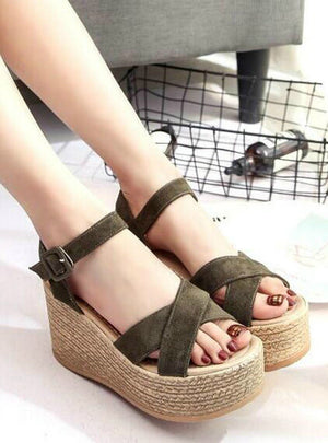High Heel Platform Open Toes Women Sandals