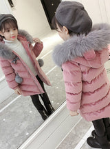 Children's Padded Cotton-Padded Jacket